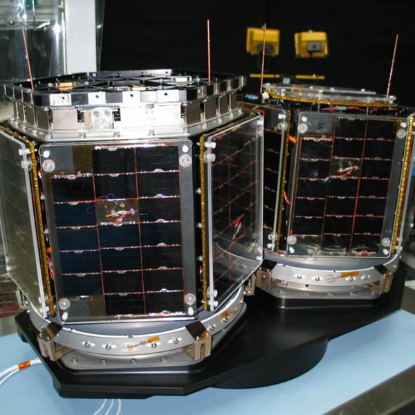 3CS satellites at testing facility