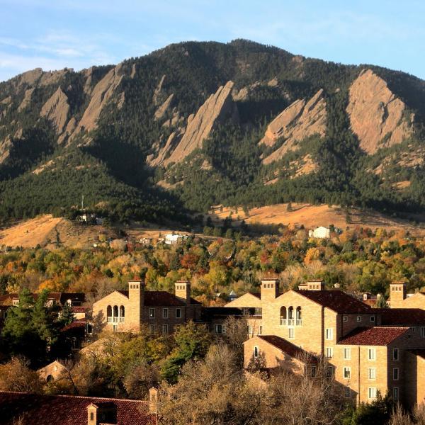 University of Colorado Boulder campus.