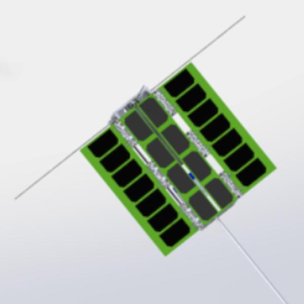 CANVAS CubeSat rendering