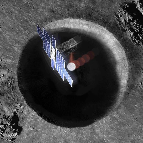 Lunar Flashlight rendering