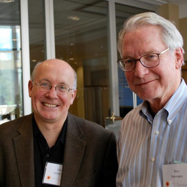 Dan Scheeres with Don Yeomans