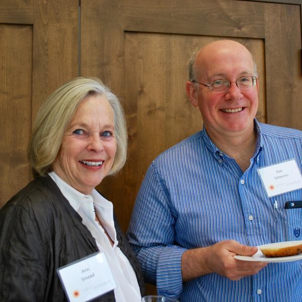 Ann Smead with Dan Scheeres