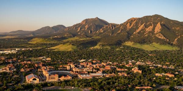 Aerial photo of campus.