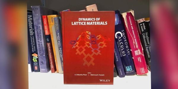 Dynamics of Lattice Materials book.