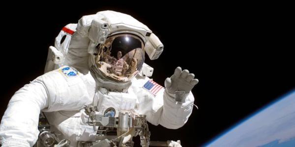 Joe Tanner in space.
