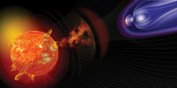 Visualization of solar flares