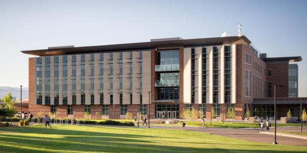 The new aerospace building.