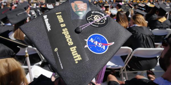 A graduation cap