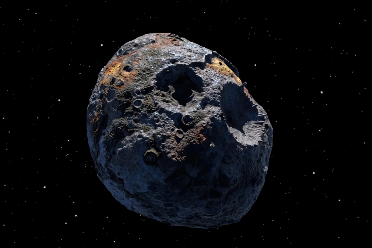 16 Psyche asteroid