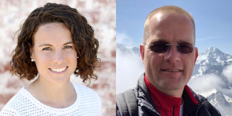 Allie Anderson and Hanspeter Schaub