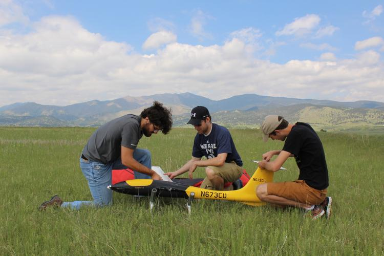 Project Drought' taps drones to measure water moisture at