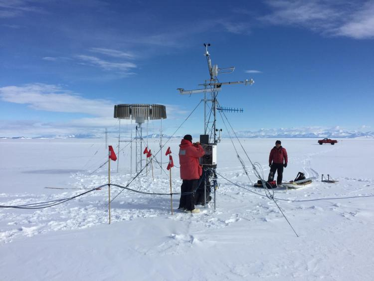 Working with GPS in the Artic.