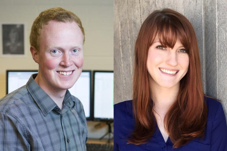 Matthew Hurst and Christine Reilly