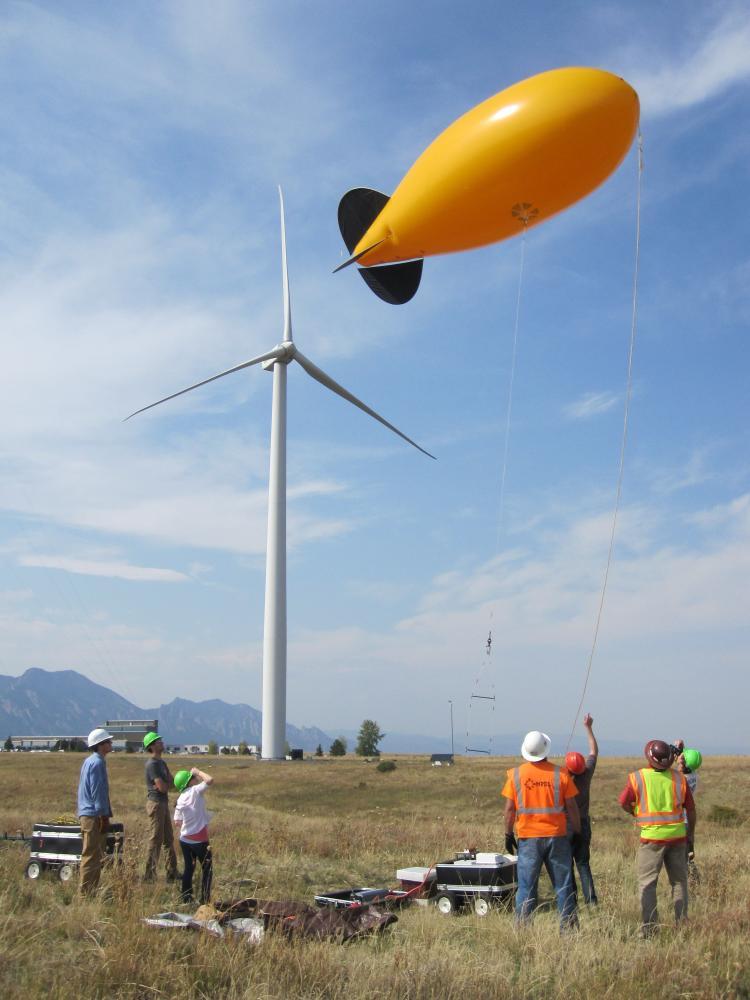 Turbine blimp