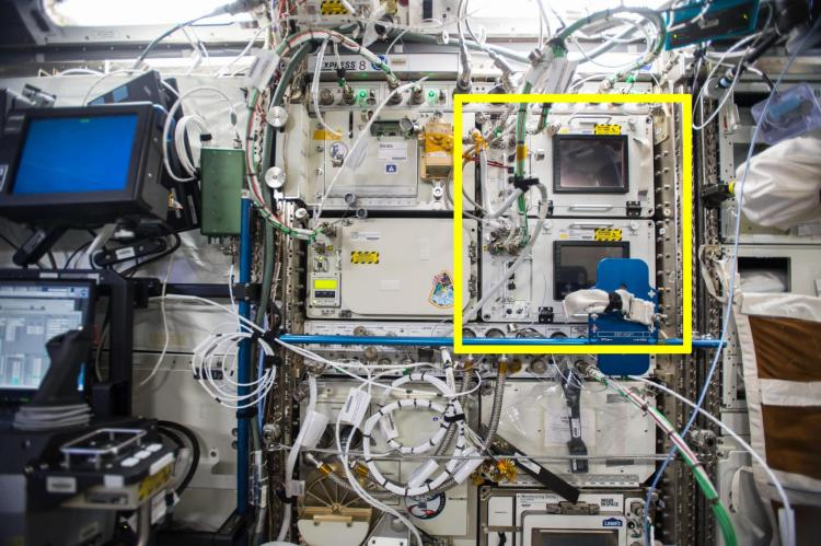 SABL on board ISS.