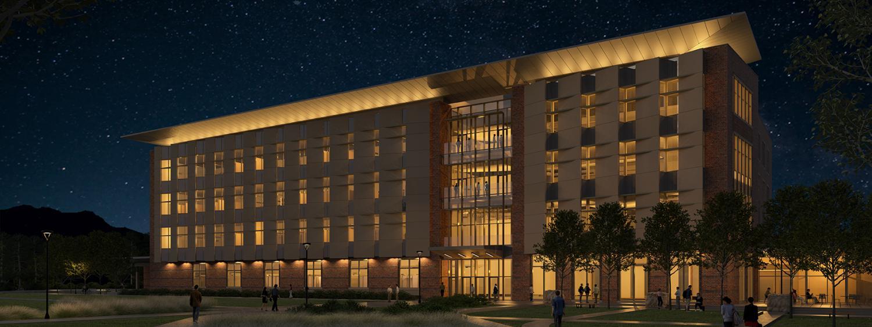 New aerospace building rendering.