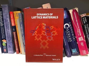 Dynamics of Lattice Materials book.