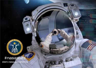 NASA Suits logo