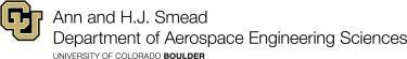 Ann & H.J. Smead Department of Aerospace Engineering Sciences logo
