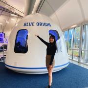 Michelle Lin at Blue Origin.
