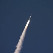 OSIRIS-REx rocket launching