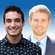 Aaron Aboaf and Luke Bury