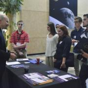 Students at AeroSpace Ventures Day.