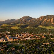 CU Boulder campus.