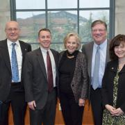 Ann Smead and Michael Byram with Bobby Braun, Dan Scheeres, and Penina Axelrad