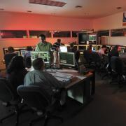 A view of the mission operations center for the Kepler Space Telescope, which the Laboratory for Atmospheric and Space Physics (LASP) oversaw from 2009 to 2018. (Credit: LASP)