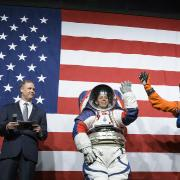 People in NASA's new spacesuits
