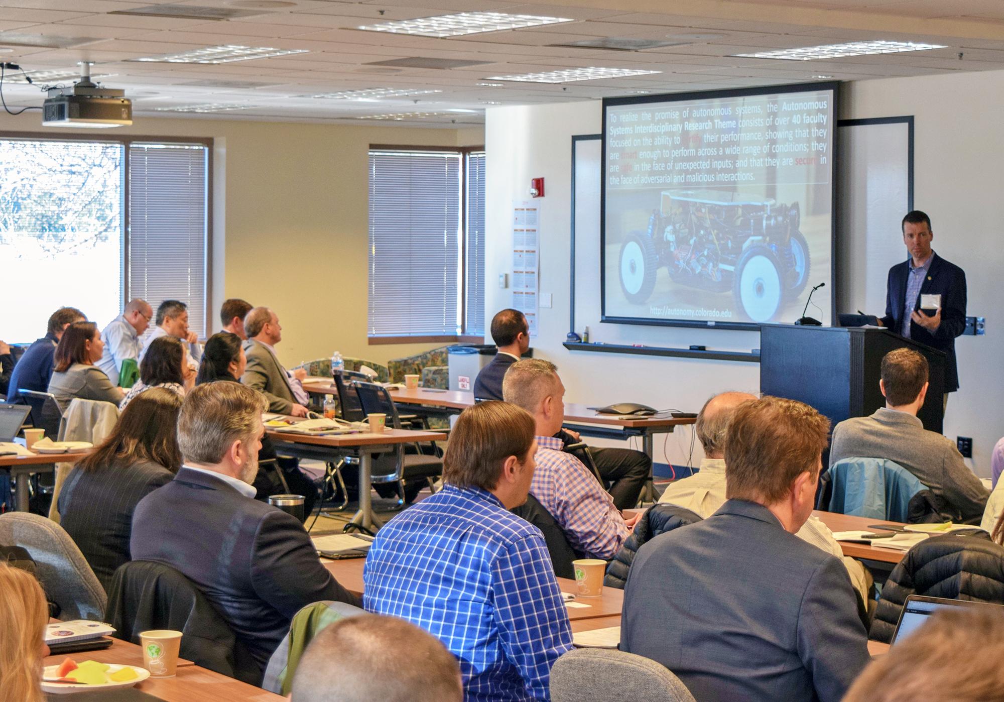 AeroSpace Ventures Research Blitz reinforces CU Boulder's standing as a vital aerospace hub