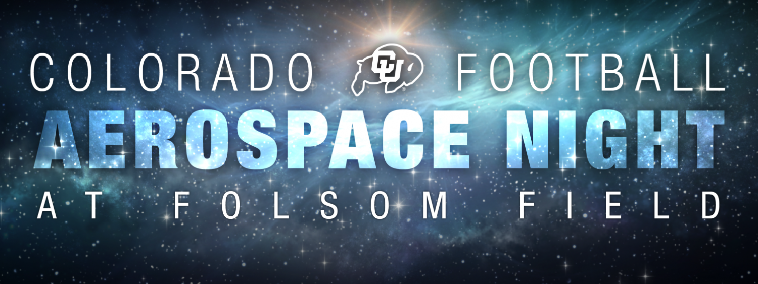 Football Aerospace Night at Folsom Field