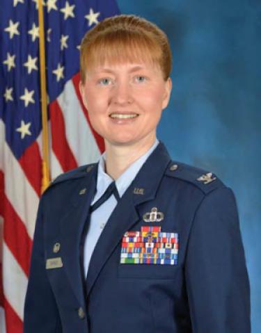 Colonel Danielle Barnes | Air Force ROTC | University of