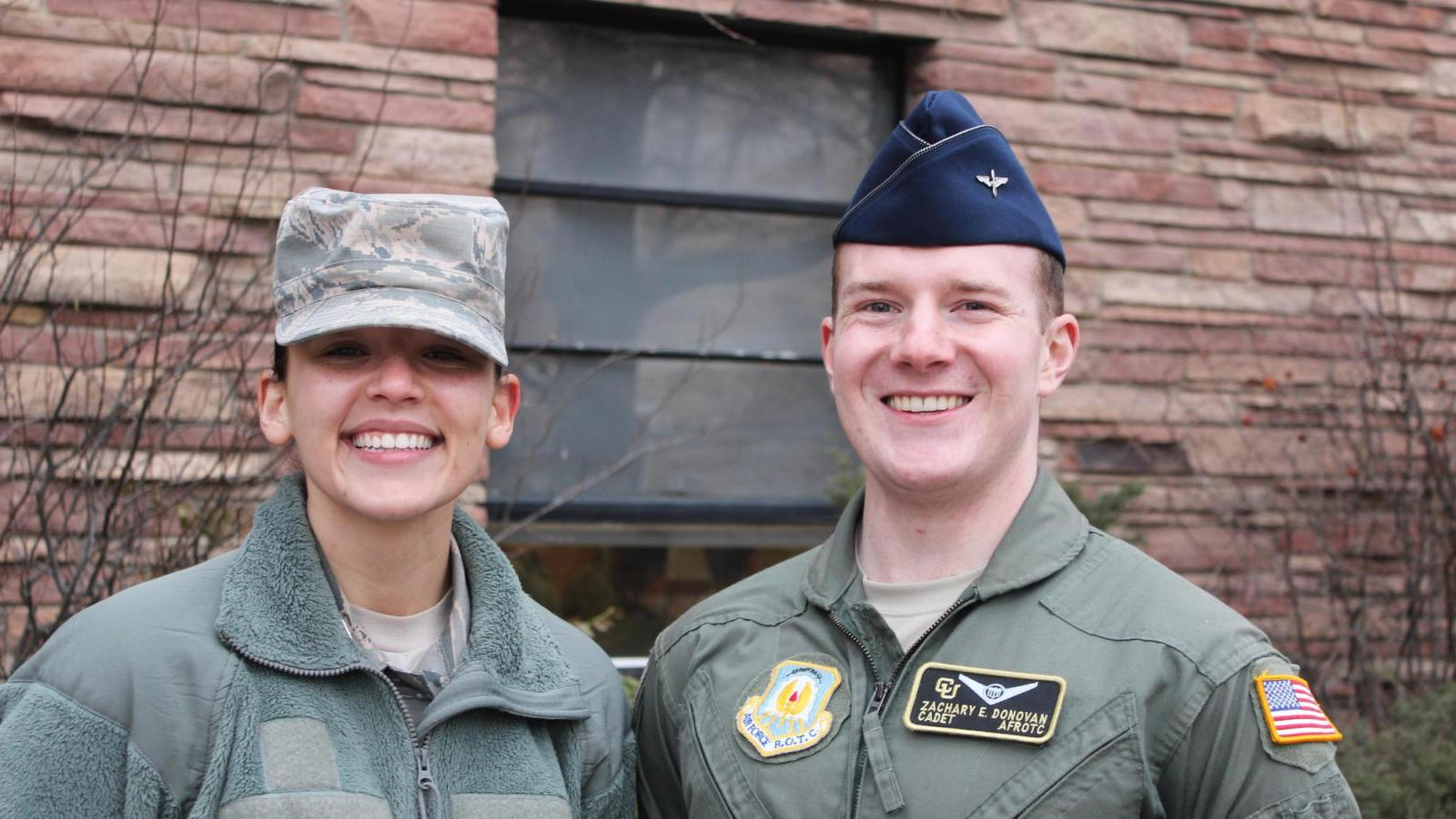 spring 2020 wing commander and vice wing commander