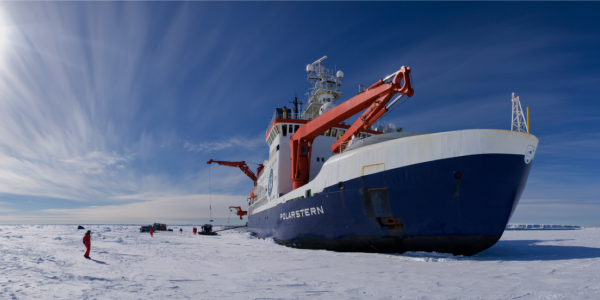 Ice breaker in the Arctic