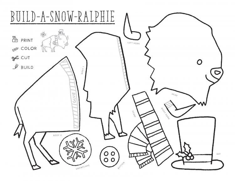 Ralphie Snow Craft
