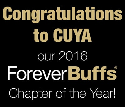 Congratulations to CUYA our 2016 Forever Buffs Chapter of the Year!