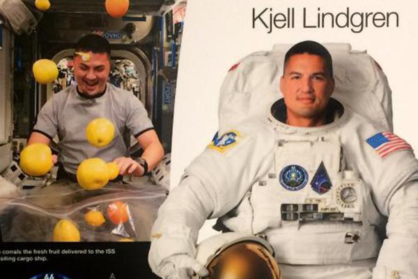 Astronaut from CU Boulder