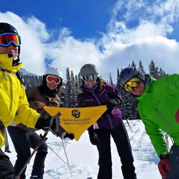 cu boulder young alumni: Buffs at the Butte