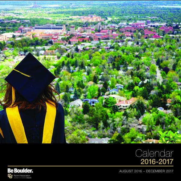 2017 Alumni Wall Calendar Cover