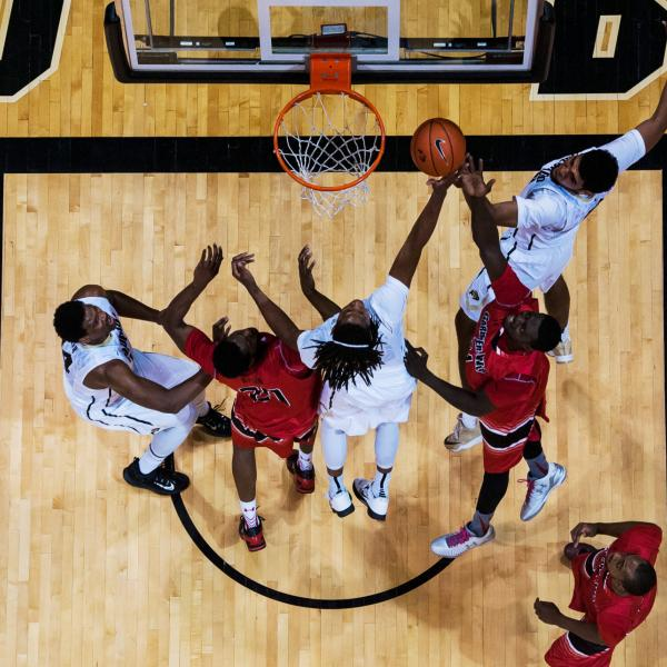 cu home basketball game