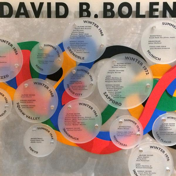 David Bolen Olympic tribute gallery