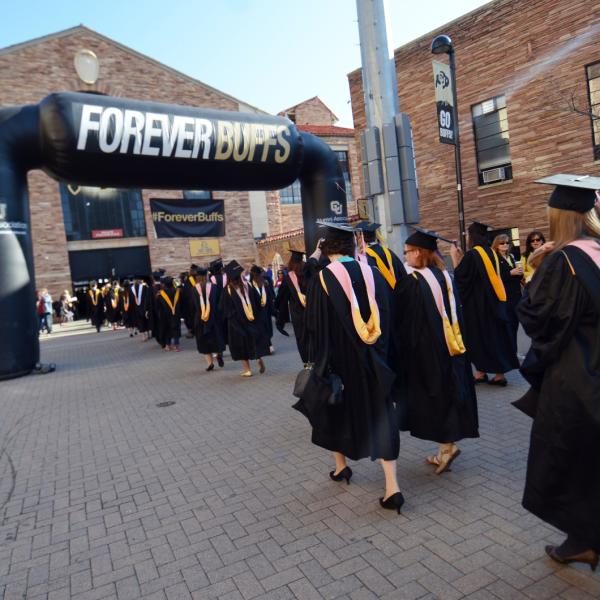 forever buffs at graduation