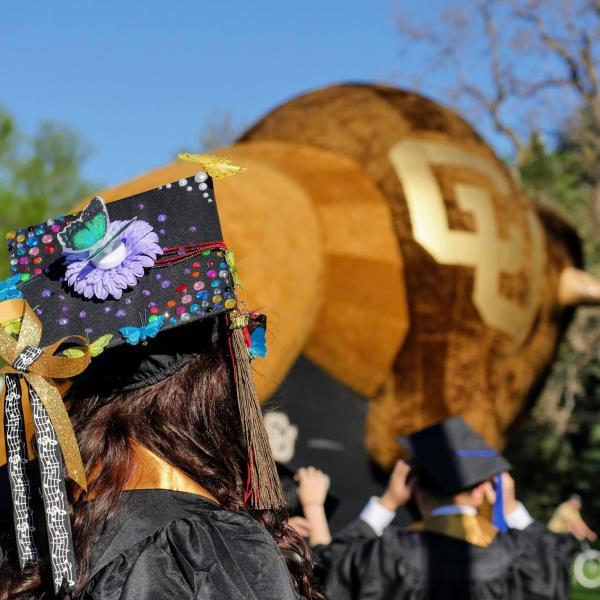 future alumni at graduation