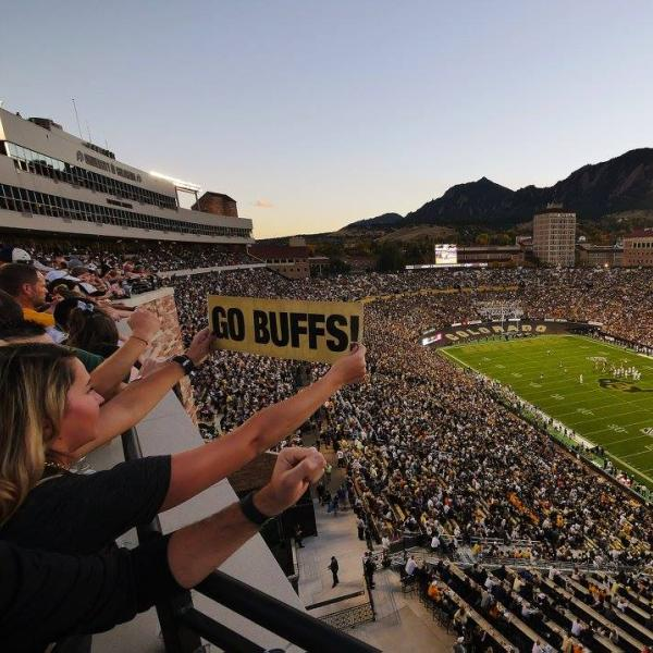 cu boulder homecoming football game