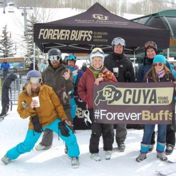 Cu boulder Young Alumni Ski Trip