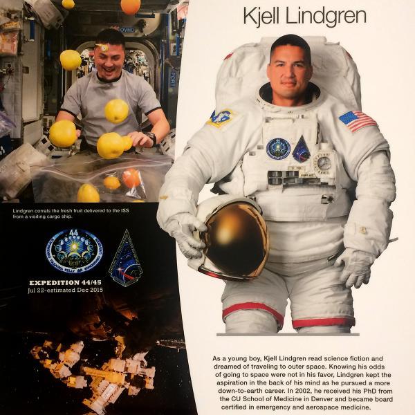 CU in Space exhibit
