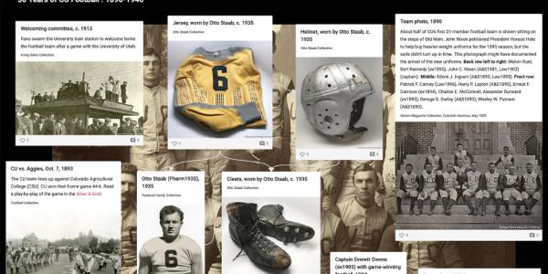 50 years of CU football