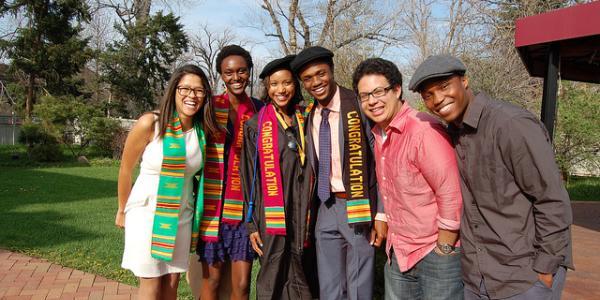 Members of the CU-Boulder Black Alumni Association